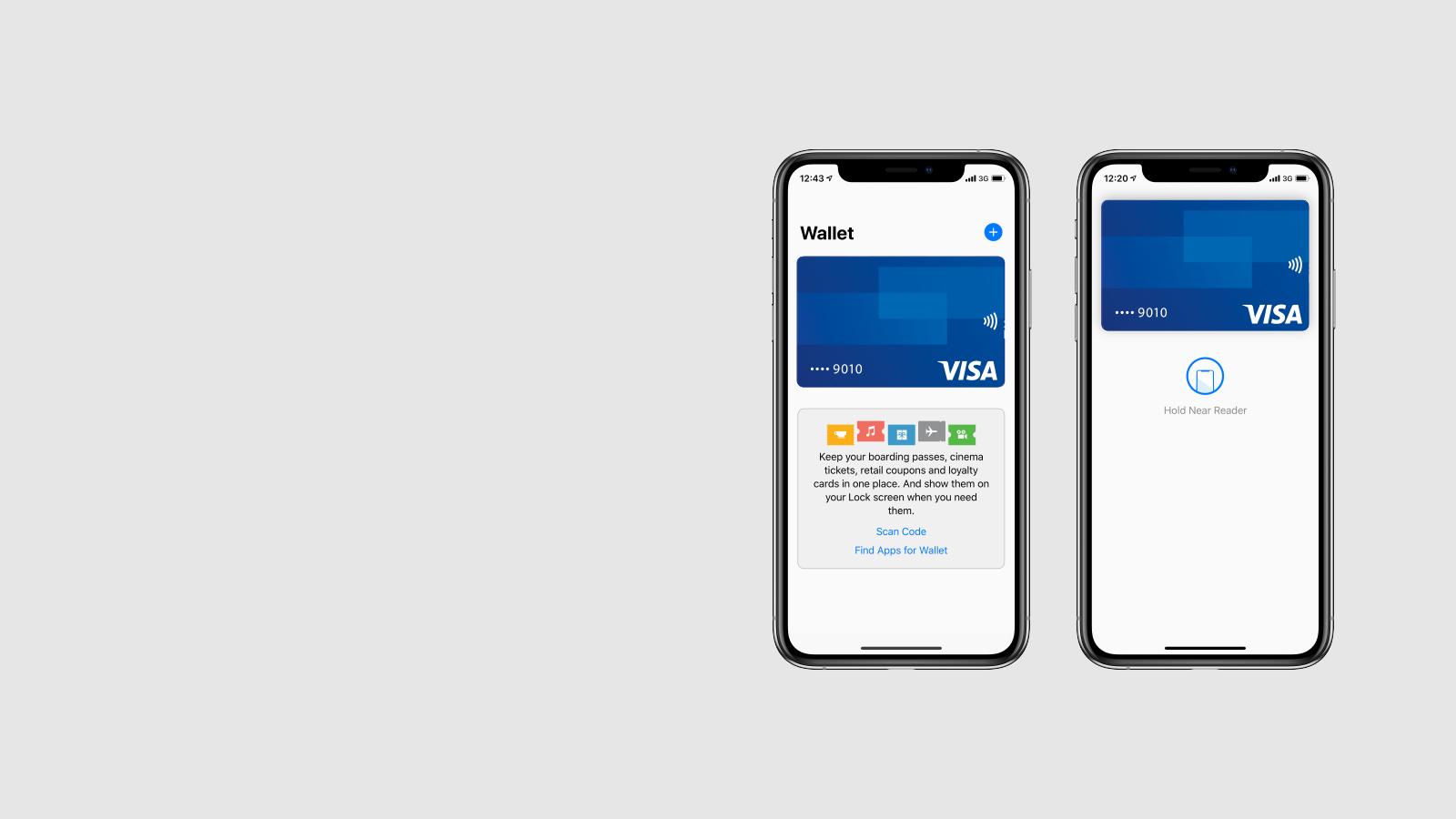 5a0a749f6 عيشها على كيفك وادفعها على طريقتك. استخدم Visa مع Apple ...
